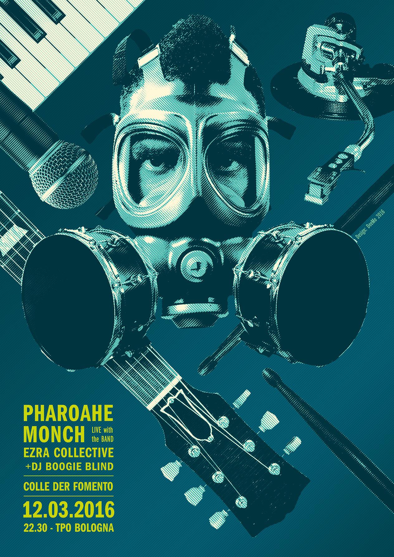 Pharohae Monch+Ezra Collective+Colle Der fomento @TPO 12 Marzo 2016